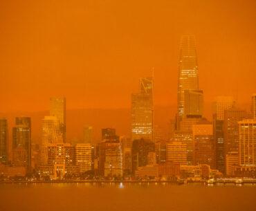 Orange skies a metaphor for landlords